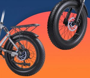 Shengmilo MX21 Fat tires and double disc brake system