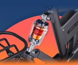 Shengmilo MX21 Rear Suspension