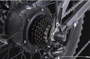 Shengmilo MX21 Shimano 7 speed transmission