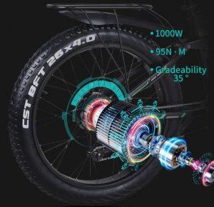 Shengmilo MX01 1000W Powerful Motor