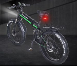 Shengmilo MX01 Front and Rear LED Lights