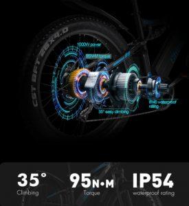 Shengmilo MX03 Ebike 1000W Powerful Motor