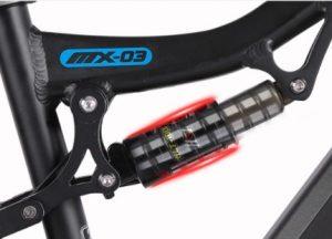 Shengmilo MX03 Ebike rear suspension